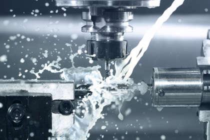 Officina meccanica CNC